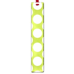 Spring Green Polkadot Large Bookmark