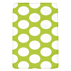 Spring Green Polkadot Removable Flap Cover (Small)
