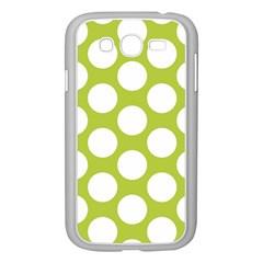 Spring Green Polkadot Samsung Galaxy Grand DUOS I9082 Case (White)