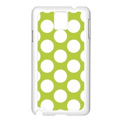 Spring Green Polkadot Samsung Galaxy Note 3 N9005 Case (White)