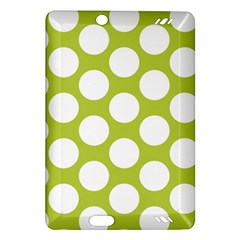 Spring Green Polkadot Kindle Fire HD 7  (2nd Gen) Hardshell Case