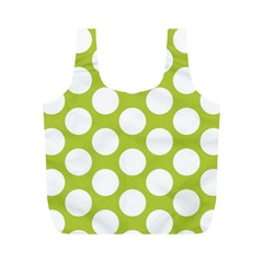 Spring Green Polkadot Reusable Bag (M)
