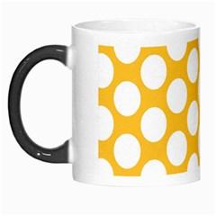 Sunny Yellow Polkadot Morph Mug