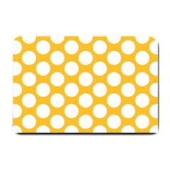Sunny Yellow Polkadot Small Door Mat