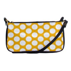 Sunny Yellow Polkadot Evening Bag