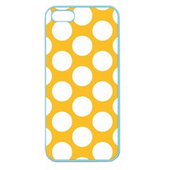 Sunny Yellow Polkadot Apple Seamless Iphone 5 Case (color)