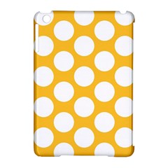 Sunny Yellow Polkadot Apple iPad Mini Hardshell Case (Compatible with Smart Cover)