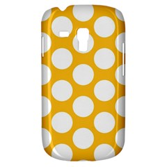Sunny Yellow Polkadot Samsung Galaxy S3 MINI I8190 Hardshell Case