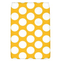 Sunny Yellow Polkadot Removable Flap Cover (Large)