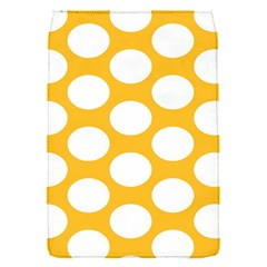 Sunny Yellow Polkadot Removable Flap Cover (Small)