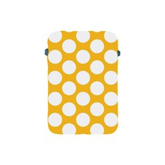 Sunny Yellow Polkadot Apple Ipad Mini Protective Sleeve