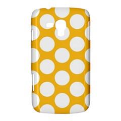 Sunny Yellow Polkadot Samsung Galaxy Duos I8262 Hardshell Case