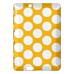 Sunny Yellow Polkadot Kindle Fire Hdx 7  Hardshell Case