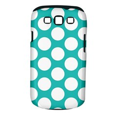 Turquoise Polkadot Pattern Samsung Galaxy S Iii Classic Hardshell Case (pc+silicone)