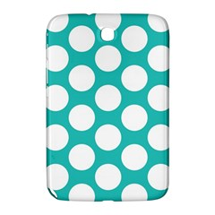 Turquoise Polkadot Pattern Samsung Galaxy Note 8.0 N5100 Hardshell Case