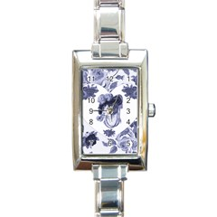Miss Kitty Rectangular Italian Charm Watch