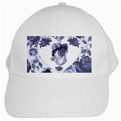 MISS KITTY White Baseball Cap