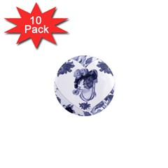 MISS KITTY 1  Mini Button Magnet (10 pack)
