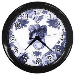 MISS KITTY Wall Clock (Black)