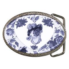 MISS KITTY Belt Buckle (Oval)