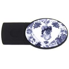 MISS KITTY 1GB USB Flash Drive (Oval)
