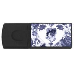MISS KITTY 2GB USB Flash Drive (Rectangle)
