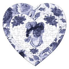 MISS KITTY Jigsaw Puzzle (Heart)