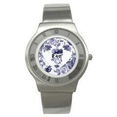 MISS KITTY Stainless Steel Watch (Slim)