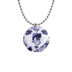 MISS KITTY Button Necklace
