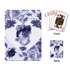 MISS KITTY Playing Cards Single Design