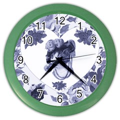 MISS KITTY Wall Clock (Color)