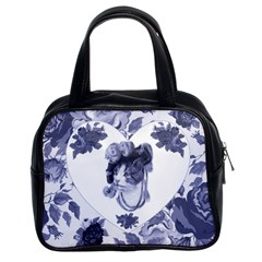 MISS KITTY Classic Handbag (Two Sides)