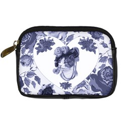 Miss Kitty Digital Camera Leather Case