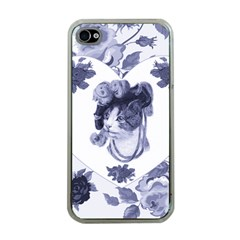 Miss Kitty Apple Iphone 4 Case (clear)