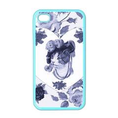 Miss Kitty Apple Iphone 4 Case (color)