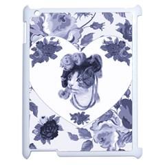 MISS KITTY Apple iPad 2 Case (White)