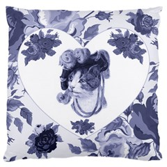MISS KITTY Large Cushion Case (Two Sided)