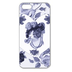 Miss Kitty Apple Seamless Iphone 5 Case (clear)
