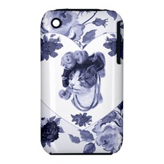 MISS KITTY Apple iPhone 3G/3GS Hardshell Case (PC+Silicone)