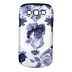 MISS KITTY Samsung Galaxy S III Classic Hardshell Case (PC+Silicone)