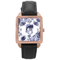 Miss Kitty Rose Gold Leather Watch