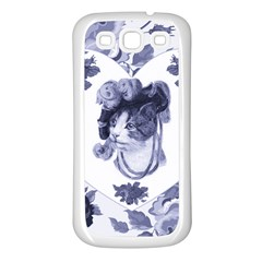MISS KITTY Samsung Galaxy S3 Back Case (White)