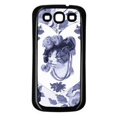 MISS KITTY Samsung Galaxy S3 Back Case (Black)