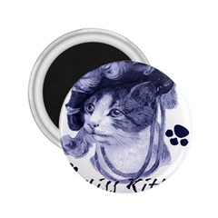 Miss Kitty blues 2.25  Button Magnet