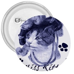 Miss Kitty blues 3  Button