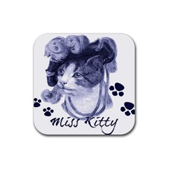 Miss Kitty blues Drink Coaster (Square)