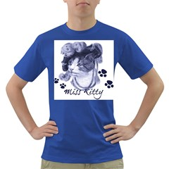 Miss Kitty blues Men s T-shirt (Colored)