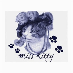 Miss Kitty blues Glasses Cloth (Small, Two Sided)