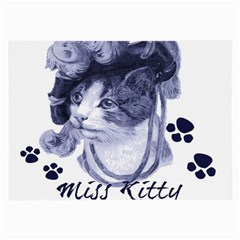 Miss Kitty blues Glasses Cloth (Large)