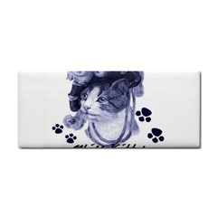 Miss Kitty blues Hand Towel